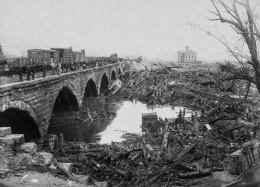 Library of Congress image of Johnstown bridge